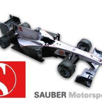 Formula One Paper Model 2010 - Sauber C29