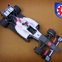 2012 Sauber C31 MODELL