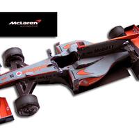 F1 Mclaren model 2010 update