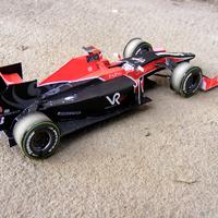 F1 Virgin 2010 Paper Model - YOU CAN BUY ONLINE