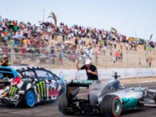 Rally vs F1