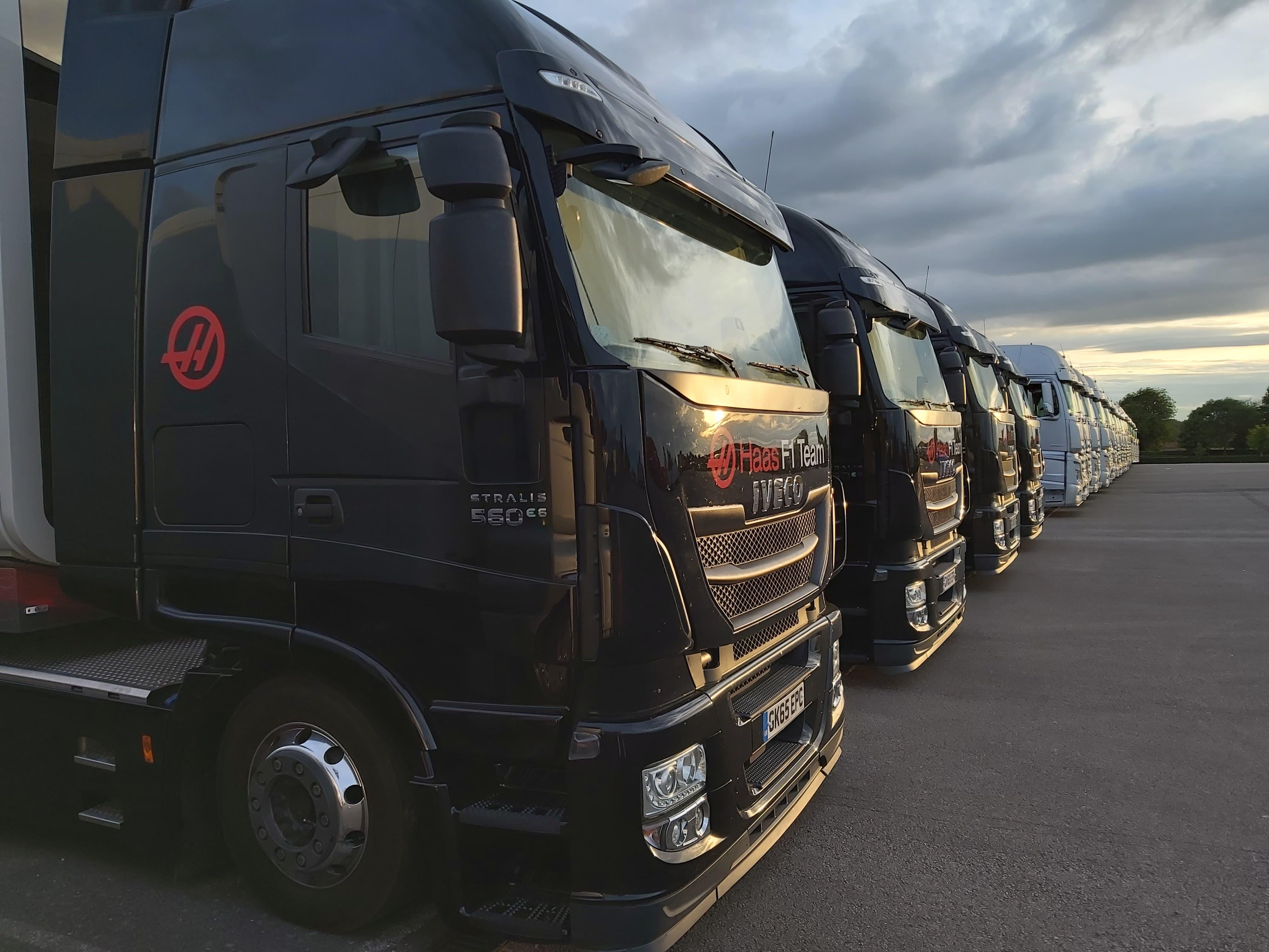 Egy F1-es kamionsofőr mindennapjai