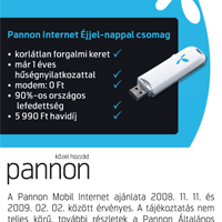 Internet Pannon módra