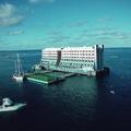 Észak-koreai roncsként végzi a világ első bizarr úszó hotelje