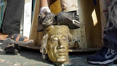 Bab al-Aziziya: virtuális séta Kadhafi szétvert központi palotájában