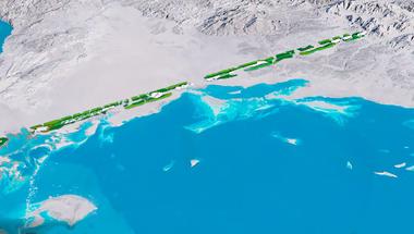 Szaúd-Arábia 170 kilométer hosszú megavárost épít