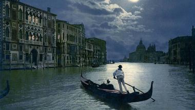 Gyönyörű, vibráló régi fotókon a lagúnák városa, Velence