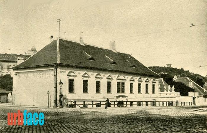 Az egykori Margit körúti tébolyda, amely még prímási nyaralónak épült. (Fotó: Urbface.com)
