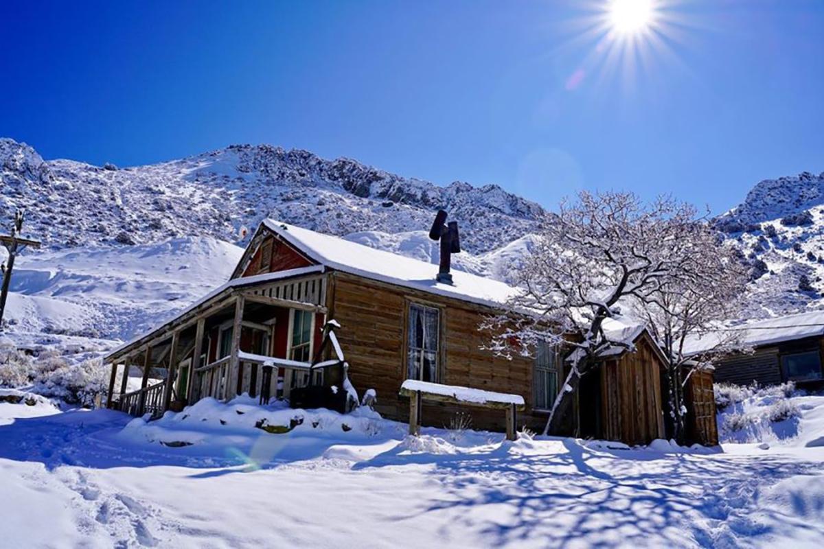 A koronavírusjárvány ideje alatt leesett hó Cerro Gordóban. (Fotó? Brent Underwood)