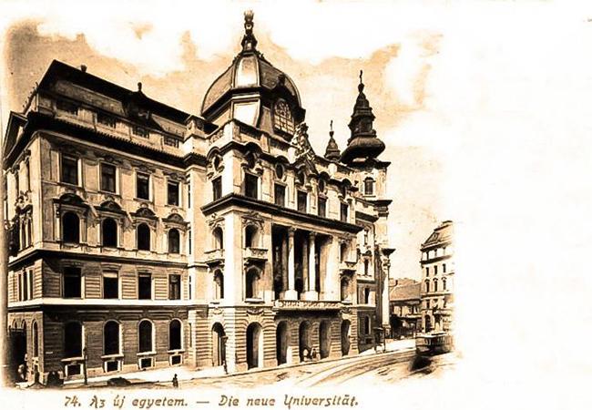 Az ELTE Központi épülete (Forrás: Urbface.com)