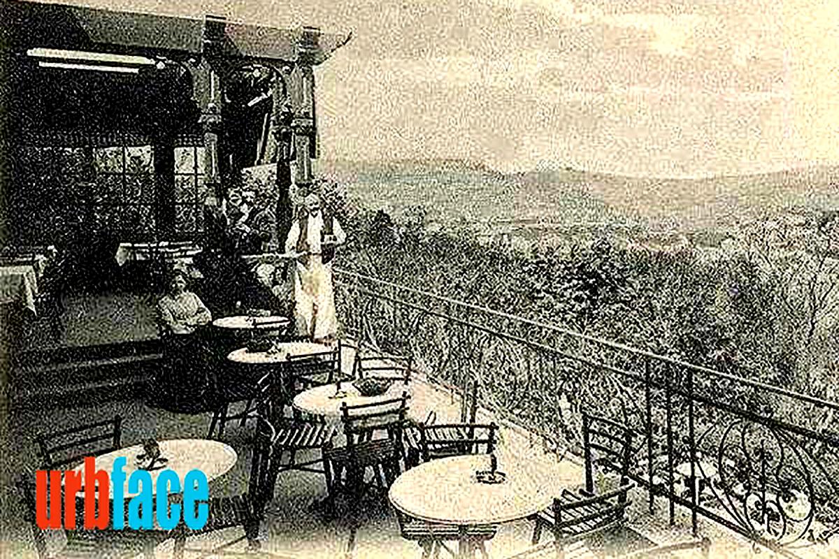 Az egykori Kioszk nagyobbik terasza. (Forrás: Urbface.com)