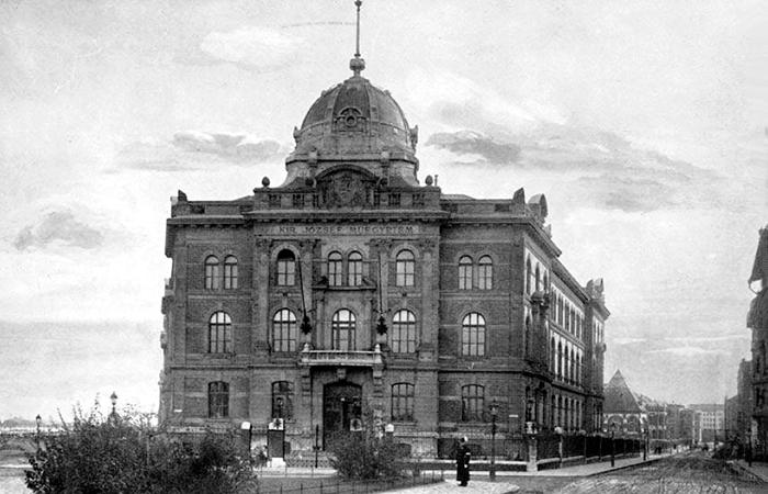 A Műegyetem 'Kémiai' épülete (Forrás: Urbface.com)