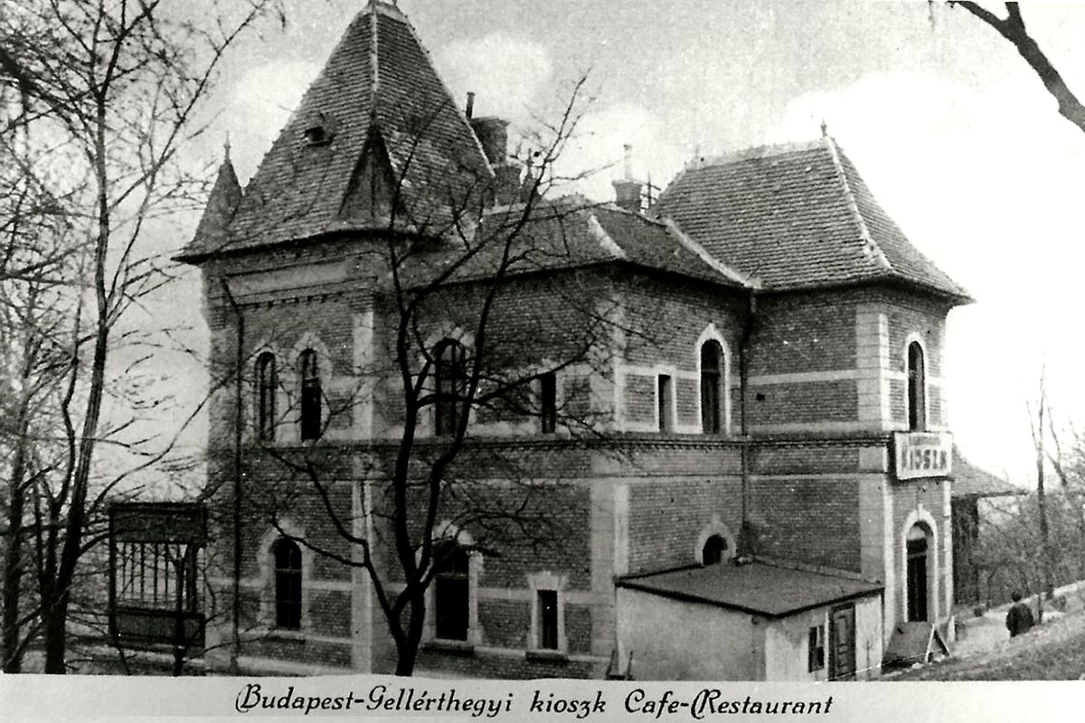 Az egykori gellérthegyi Kioszk. (Forrás: MKVM)