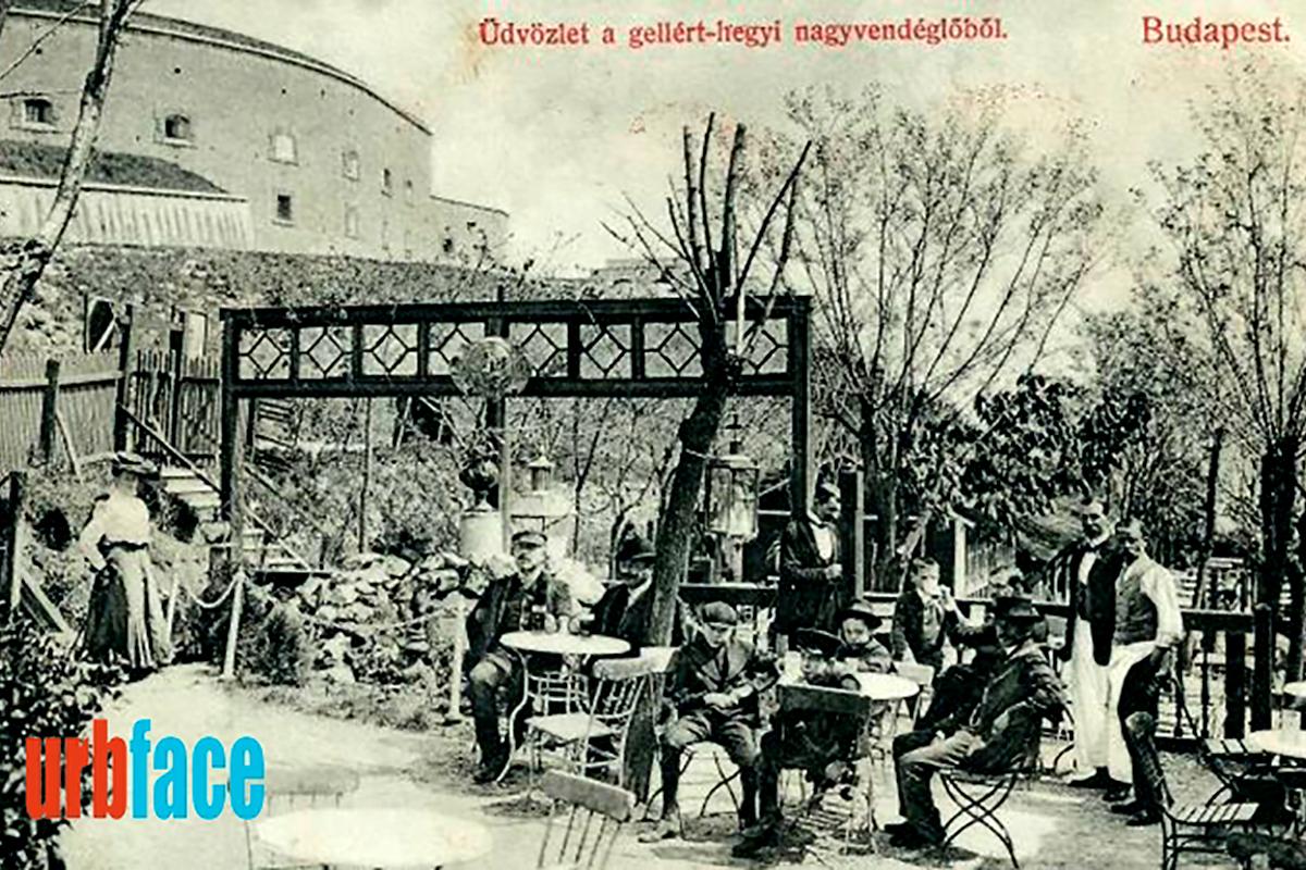 Az egykori Kioszk kisebbik terasza. (Forrás: Urbface.com)