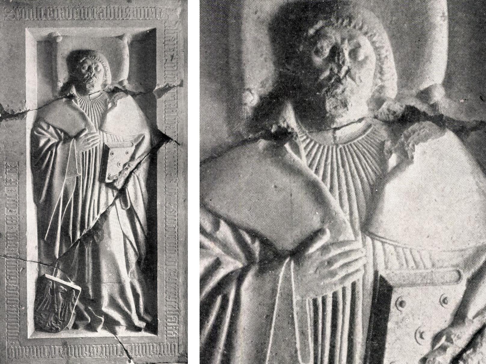 Gergellaki Bertalan megtalált sírköve (Fotó: Archeológiai Értesítő)