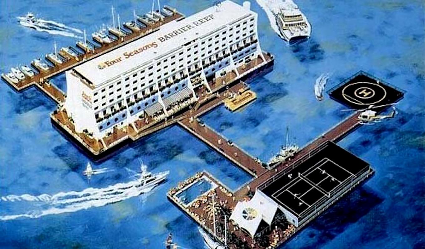 Itt még látványterven (Forrás: Townsville Maritime Museum)