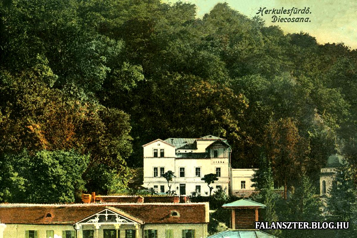 Ma már nem így néz ki a Diocesana villa. (Forrás: Falanszter.blog.hu)