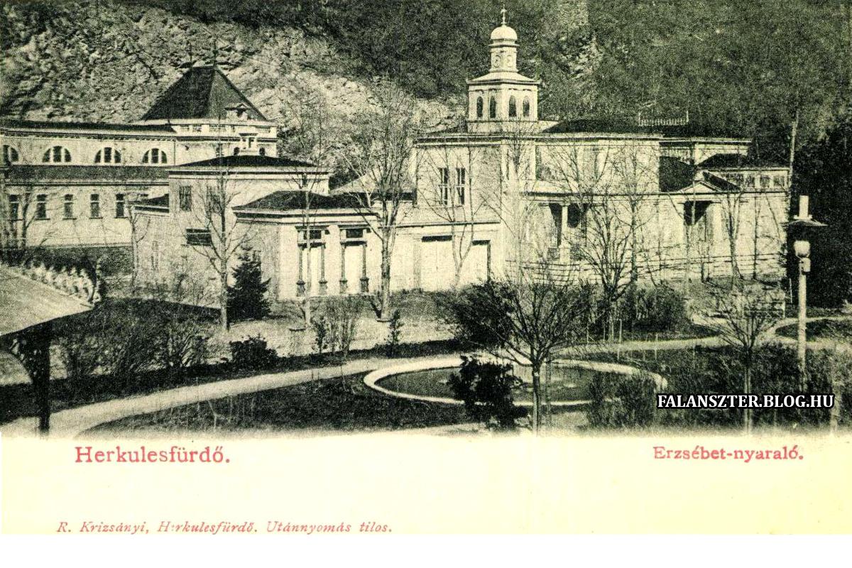 A villa a Cserna felől (Forrás: Falanszter.blog.hu)
