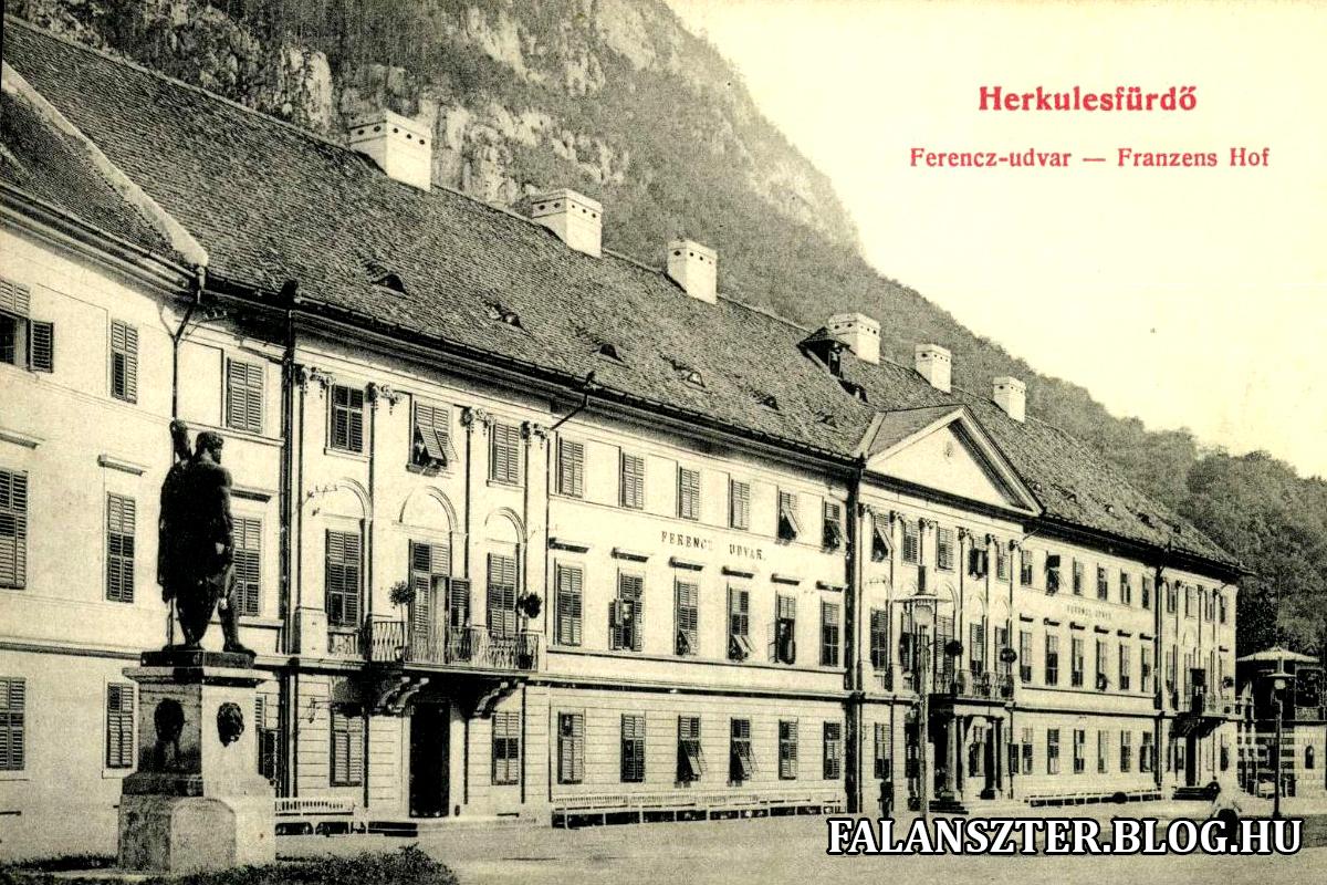 A Ferenc-szálló, a későbbi Ferenc-udvar (Forrás: Falanszter.blog.hu)