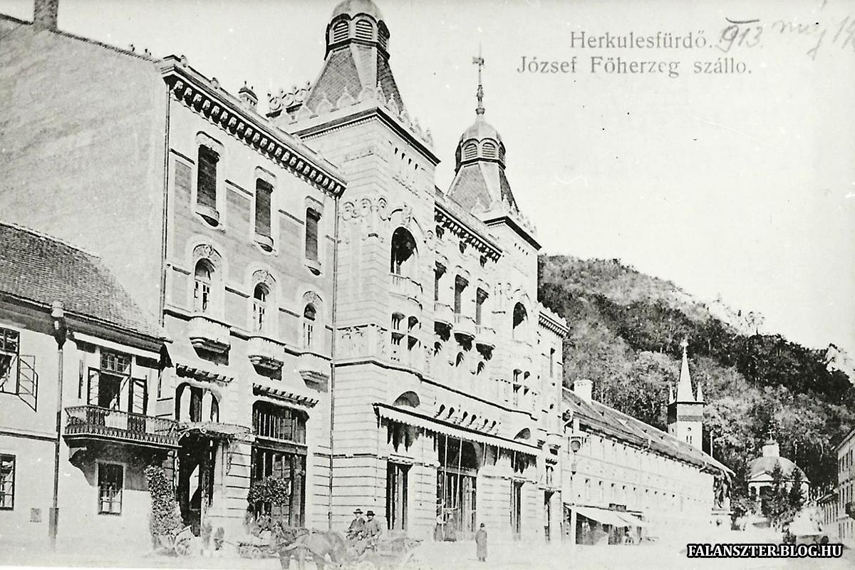 Az egykori József főherceg szálloda. (Forrás: Falanszter.blog.hu)