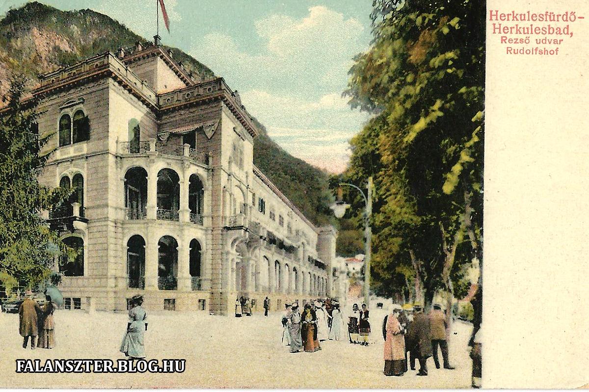 A Rezsó-udvar Cserna felé néző része. (Forrás: Falanszter.blog.hu)