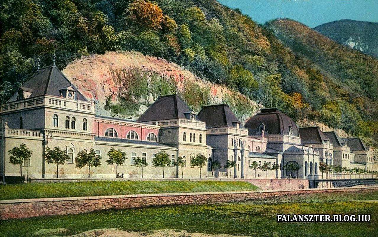 A Szapáry-fürdő fénykorában (Forrás: Falanszter.blog.hu)