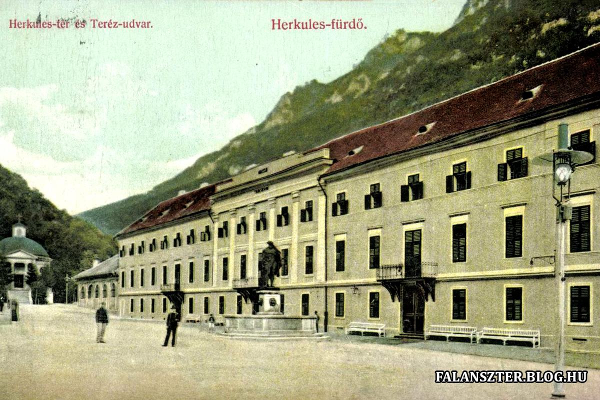 A Teréz-szálló, a későbbi Teréz-udvar. (Forrás: Falanszter.blog.hu)