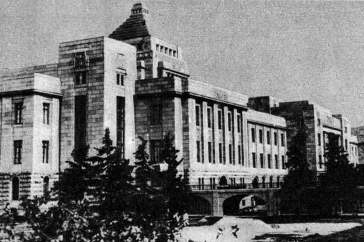 Az új tokiói Parlament (Fotó: Pesti Hírlap)