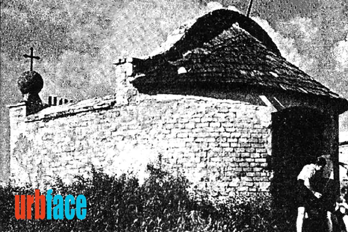 Az egykori gellérthegyi kápolna (Forrás: Urbface.com)