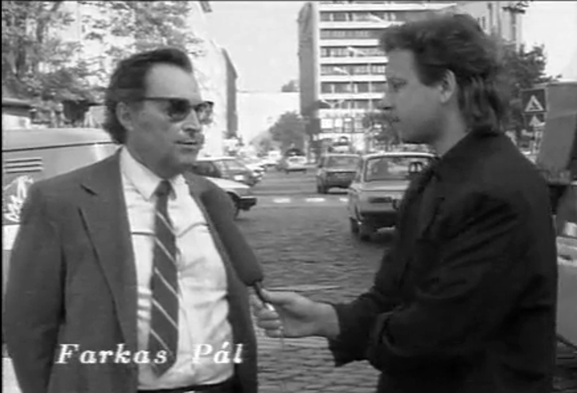 Farkas Pál egykori szemtanú - Jelenet a Pincebörtön filmből