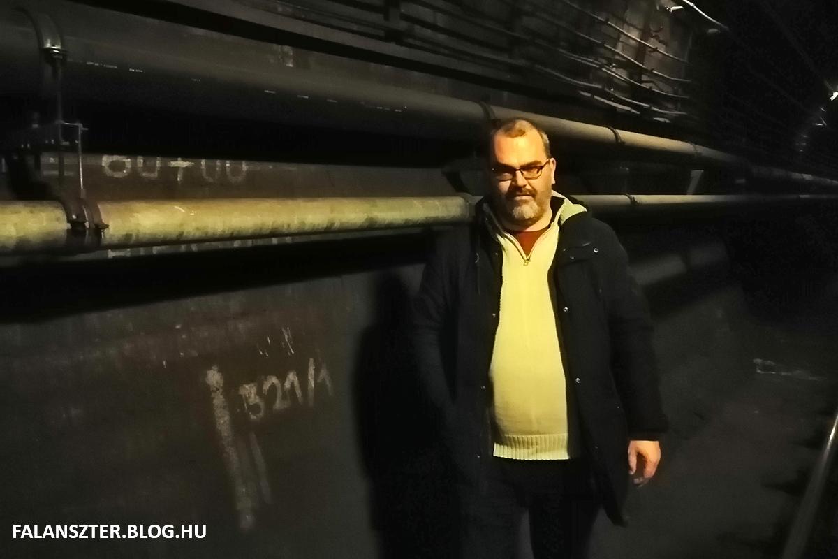 Jamrik Levente történész-filmrendező a Kenyérmezei 'anomália' előtt (Fotó: Dézsy Zoltán)