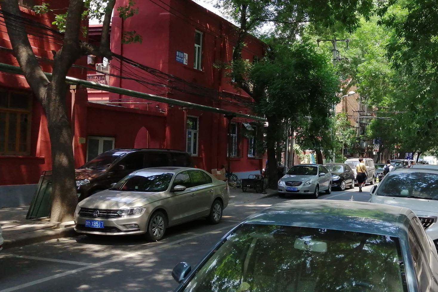Az egykori tiencsini Budapest utca napjainkban (Fotó: Rimányi Áron - Falanszter.blog.hu)