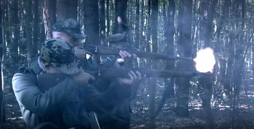 Kivégzés (Fotó: Magyar korridor - Varsó 1944 című film)