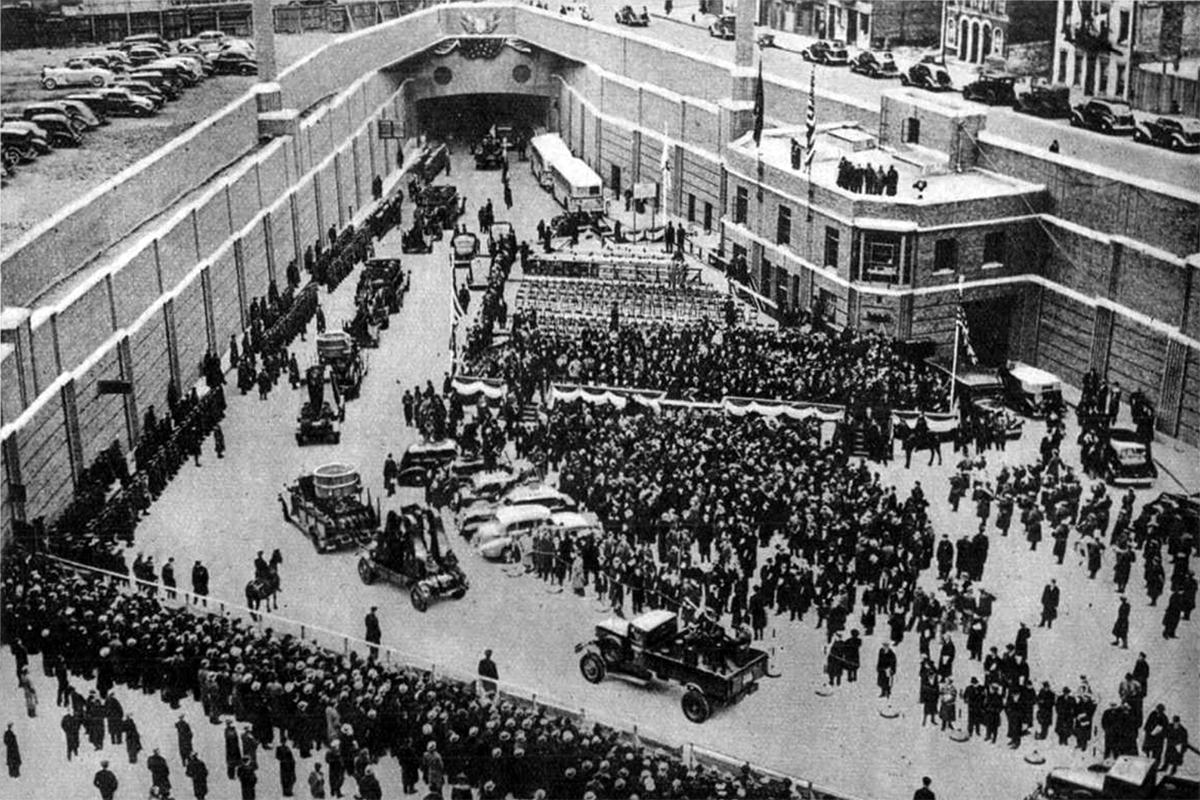 A Lincoln-alagút felavatása (Fotó: Pesti Hírlap)
