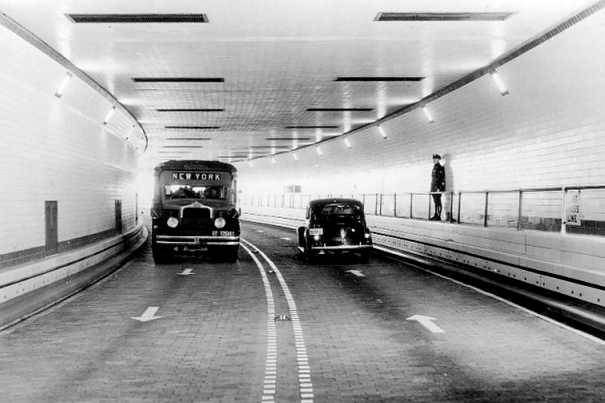 A Lincoln-alagút felavatása (Fotó: Flickr.com)
