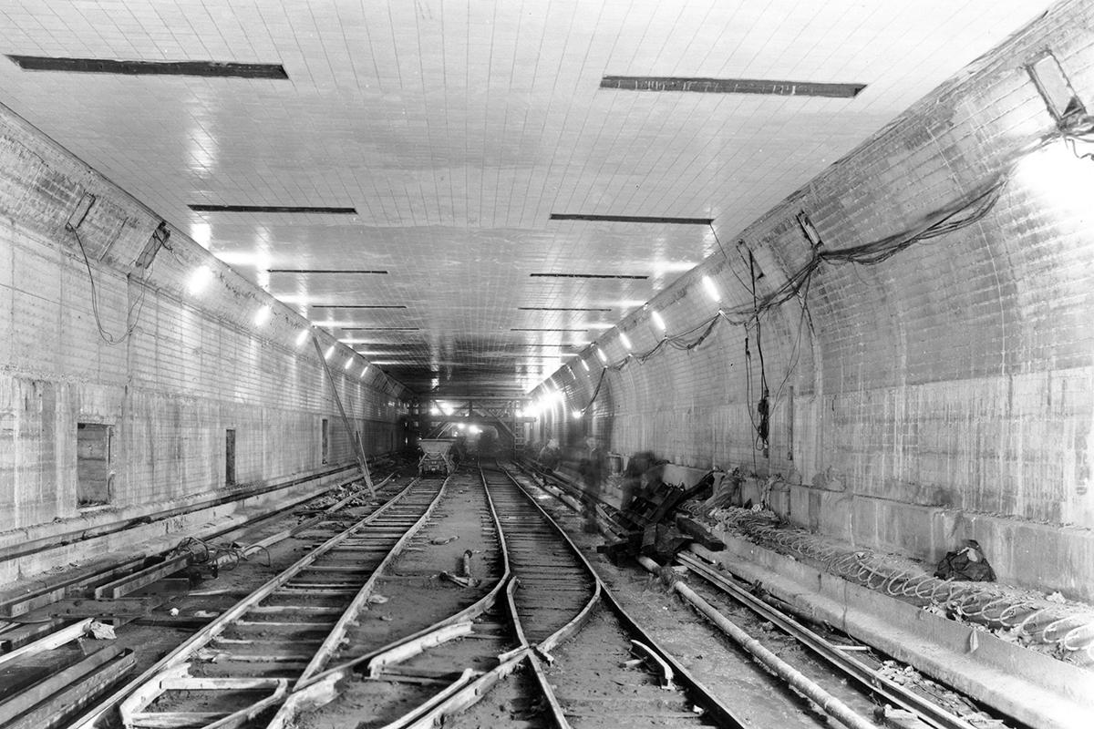 A Lincoln-alagút felavatása (Fotó: Portfolio.panynj.com)
