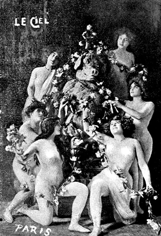 És az imádott hölgyek, akik nélkül nem lehet angyal az ember. (Fotó: Parismuseescollections.paris.fr)