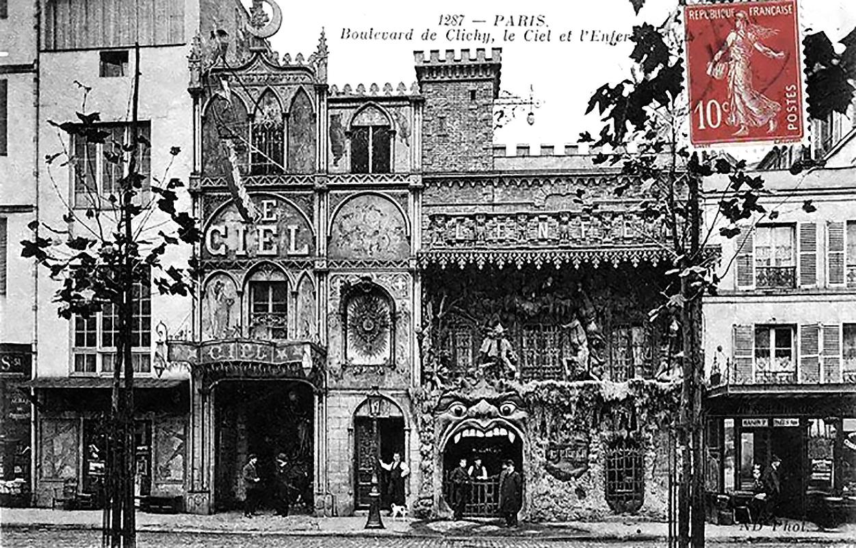 A Menny és a Pokol Kabaré 1892-ben (Fotó: Paris1900.lartnouveau.com)