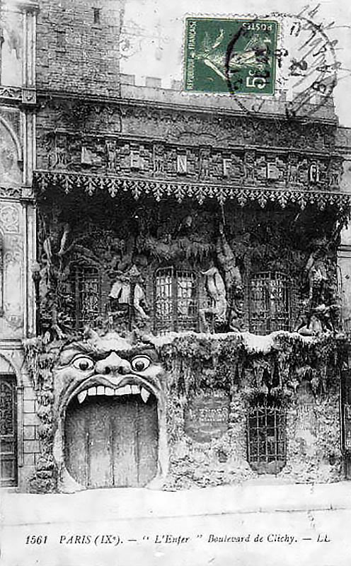 Az 1893-as átalakítás előtt.(Fotó: Pinterest.fr.)