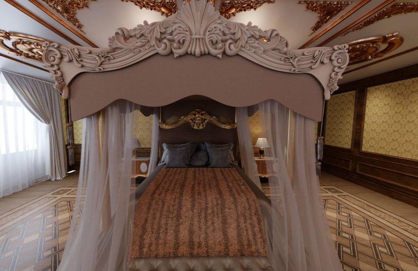 És szundiklóhelye (Fotó: Palace.navalny.com)
