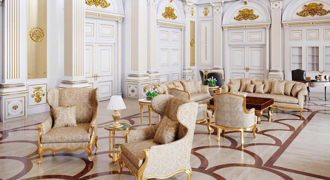 A Dohányzó szoba. (Fotó: Palace.navalny.com)