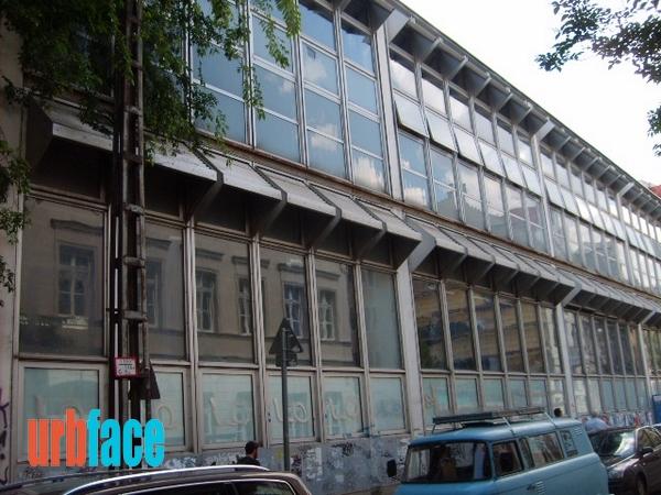 A bontásra ítélt egykori Táncművészeti Főiskola épülete (Fotó: Urbface.com)