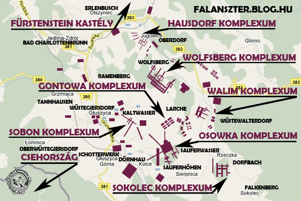 budapest földalatti térkép Hitler titkos föld alatti városai 1. rész: az Anlage Riese projekt  budapest földalatti térkép
