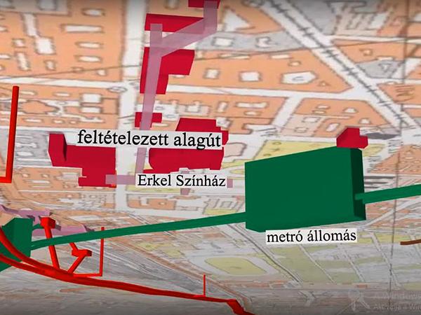 budapest interaktív térkép Elkészült Budapest földalatti világa 3D ben   FALANSZTER budapest interaktív térkép