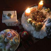 Karácsonyi habcsók