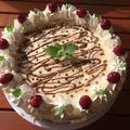 Sütés nélküli oroszkrém torta