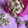 Vaniliás kekszek húsvétra
