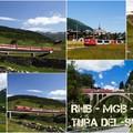 Két túra Dél-Svájcba: a Rhätische Bahn, a Matterhorn-Gotthardbahn és a Dampfbahn-Furka-Bergstrecke vonalaira
