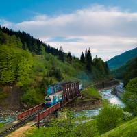 Felhős időben a Tatár-hágón
