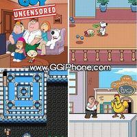 Family Guy játék tellára